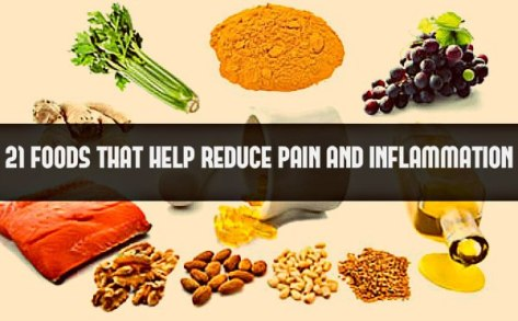 21 Foods that help reduce pain and inflammation