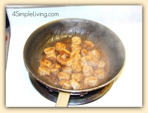 Shrimp in BBQ