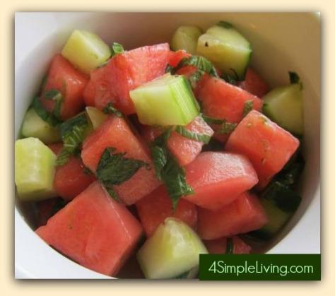 Summer Mojito Salad
