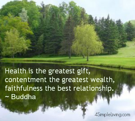 Buddha health quote