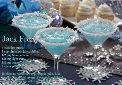 Jack Frost Cocktails