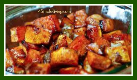 Balsamic Sweet Potatoes