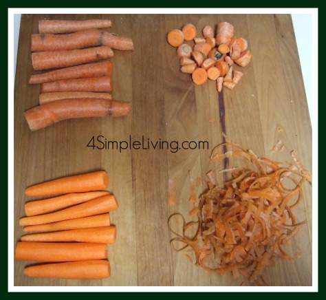 Carrots for stock
