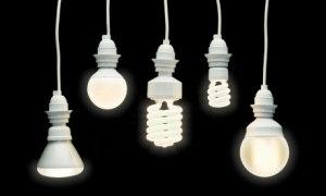 energy-saving lightbulbs